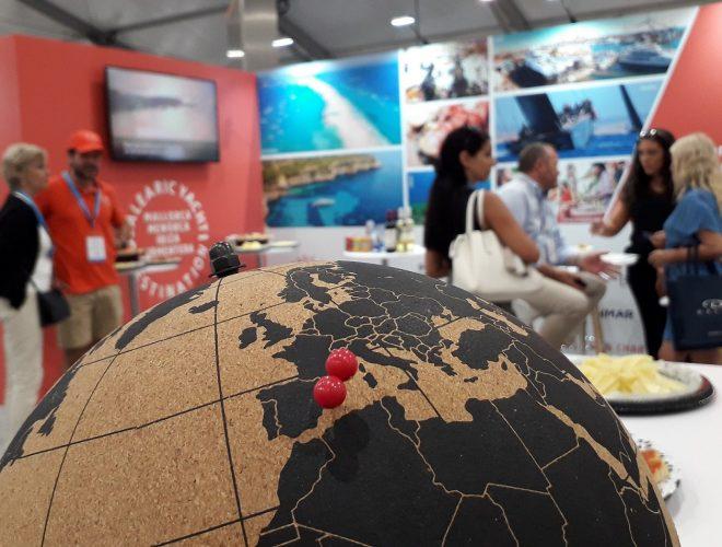 IPM Group FLIBS stand BYD Balearic Yacht Destination náutico Laudardale STP Shipyard PalmaMarina Ibiza