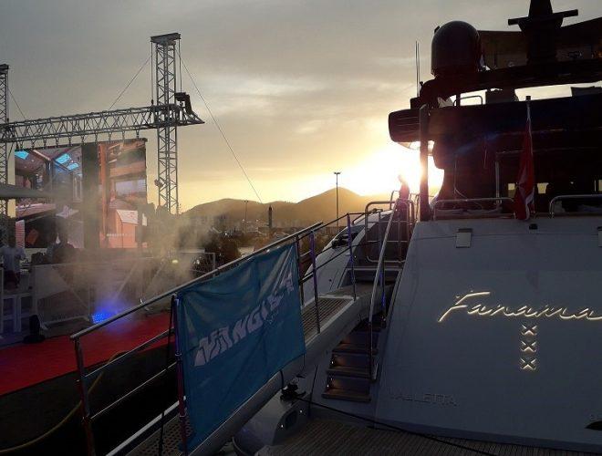 Marina Ibiza Mangusta yachts